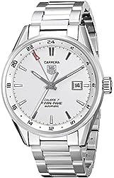 TAG Heuer Men's WAR2011.BA0723 Carrera Analog Display Swiss Automatic Silver Watch