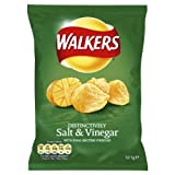 Walkers Salt and Vinegar 32.5 g (Pack of 48)