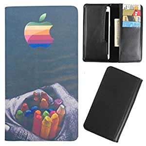 DooDa - For Micromax Canvas Doodle 2 A240 PU Leather Designer Fashionable Fancy Case Cover Pouch With Card & Cash Slots & Smooth Inner Velvet