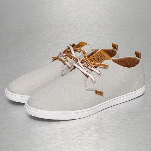 Djinns - LOW LAU LINEN - Sneaker - Hellgrau-39