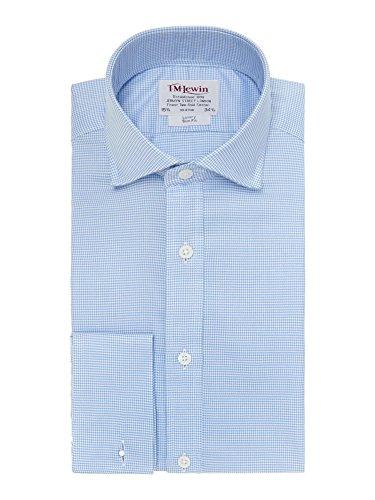 tmlewin-chemise-casual-a-carreaux-col-chemise-italien-manches-longues-homme-bleu-bleu