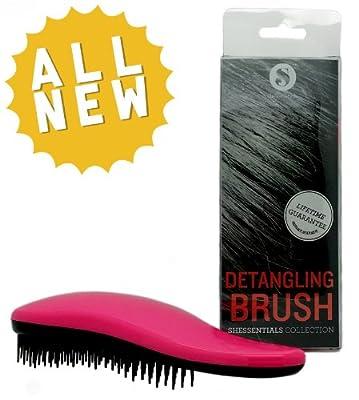 SHESSENTIALS Hair Brush for Detangling - Women's Detangler for Curly, Natural, Thick Hair