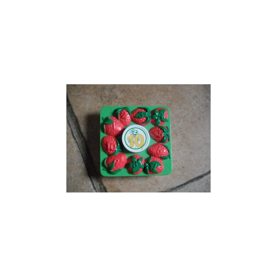 LEAP FROG REPLACEMENT FOOD #10 STRAWBERRIES SHOPPING CART
