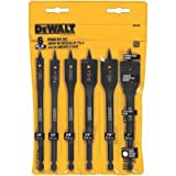 DEWALT-DW1587-6-Bit-38-Inch-to-1-Inch-Spade-Drill-Bit-Assortment