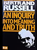 Inquiry into Meaning and Truth (0041210190) by Russell, Bertrand