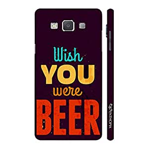 Enthopia Designer Hardshell Case Wish You Were Beer Back Cover for Samsung Galaxy E7