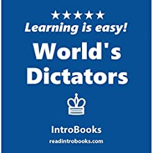 World's Dictators Audiobook by  IntroBooks Narrated by Andrea Giordani