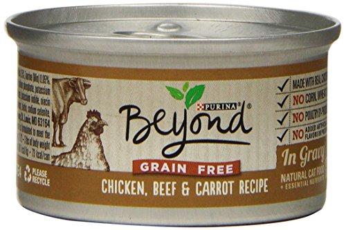 Purina Beyond Gravy Grain Free Chicken, Beef & Carrot Recipe Wet Cat Food