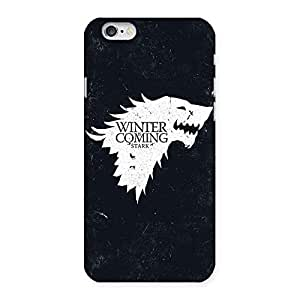 Stylish Premier Winter Comes Multicolor Back Case Cover for iPhone 6 6S