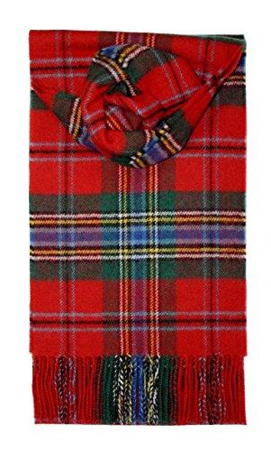 Lochcarron-Maclean-of-Duart-Tartan-Lambswool-Scarf