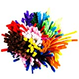 Edukit Jumbo Pack Of 360 Pipe Cleaners/Chenille Stems 12 inch x 6 mm - 14 Colors - Inc. Fluorescent Colours