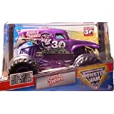 MONSTER JAM GRAVE DIGGER 30TH ANNIVERSARY ALL PURPLE 1:24 SCALE DIE CAST TRUCK