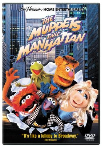 Cover art for  The Muppets Take Manhattan
