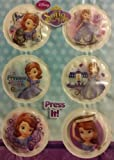 Disney Sofia the First Light-Up Biggie Badge Party Pack