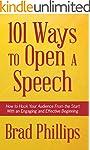 101 Ways to Open a Speech: How to Hoo...