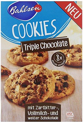 Bahlsen Cookies Triple Chocolate, 6er Pack (6 x 200 g)