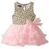 Mud Pie Baby Girls' Leopard Dress