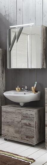 Schildmeyer mobili da bagno Mobiletto per lavabo e specchio
