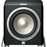 JBL L8400P 600-watt High Performance 12-Inch Powered Subwoofer with Digital Amplifier (Black)