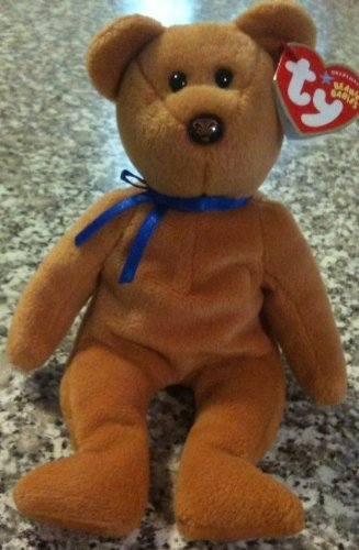 ty-beanie-baby-promise-the-brown-bear-northwestern-mutual-exclusive-by-ty