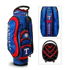 BSS - Texas Rangers MLB Cart Bag - 14 way Medalist