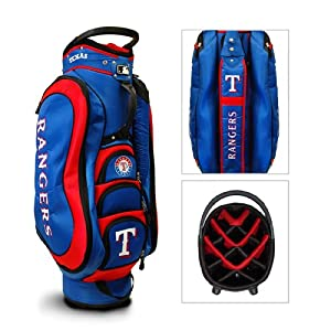 Texas Rangers MLB Cart Bag - 14 way Medalist - TGO-97735 by Team Golf