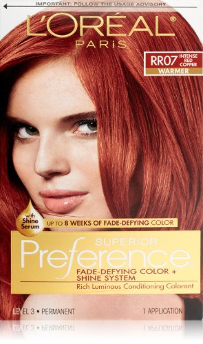 Preference Intense Red Copper
