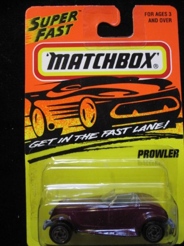 Plymouth Prowler Matchbox Super Fast Series #34 - 1