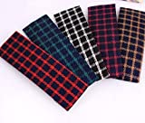 Blingys 4 Piece Plaid Style Hair Clips/Bobby Pins/Hairpins/Barrette (4 Piece Combo Set) With Blingys Bag