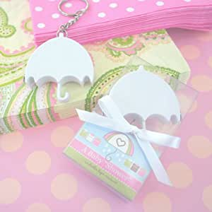baby shower umbrella measuring tape baby favor