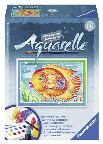 Ravensburger Aquarelle Fish - Arts and Crafts Kit
