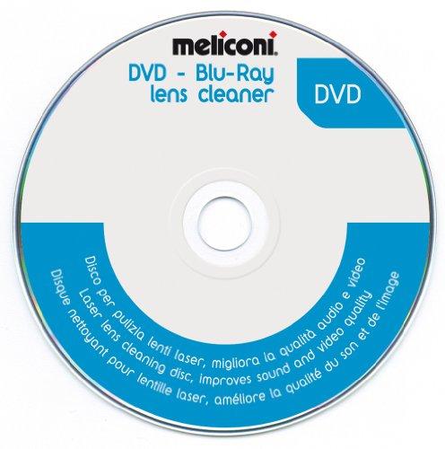 Meliconi 621012, DVD Blu-ray Pulizia Lente, 5.1 Audio System Check