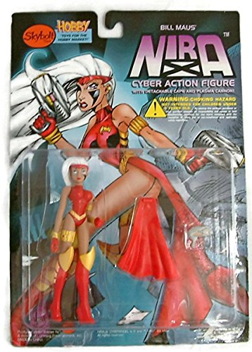 Bill Maus Nira-X Cyber Angel Action Figure with Detachable Cape and Plasma Cannon - Series II - 1