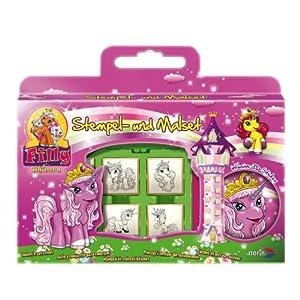 Schauen Sie sich Kundenbewertung für Noris-Spiele 606317375 - Filly Unicorn Stempelmalset Windowbox