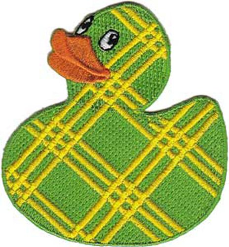 Application Plaid Rubber Ducky Patch - 1