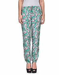 Kiosha Cotton Multi Regular Fit Trousers for Women KTVDA466_MULTI