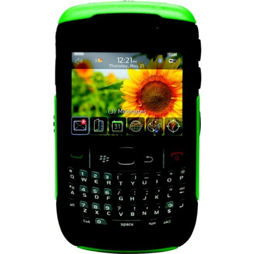 OtterBox Commuter Series Case für BlackBerry 9300 Series jade grün/schwarz/clamshell