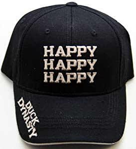 Duck Dynasty Officially Licensed Hunting Hats Cap, Happy Happy Happy