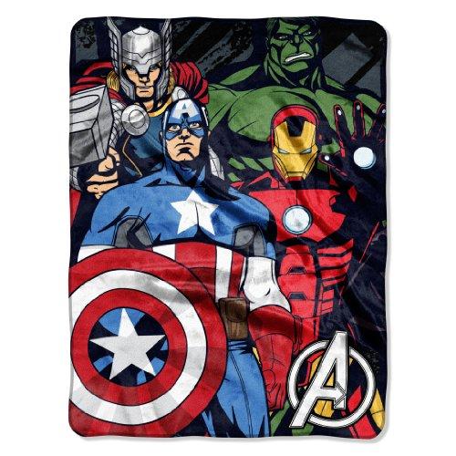 Marvel Avengers We Fight Micro Throw