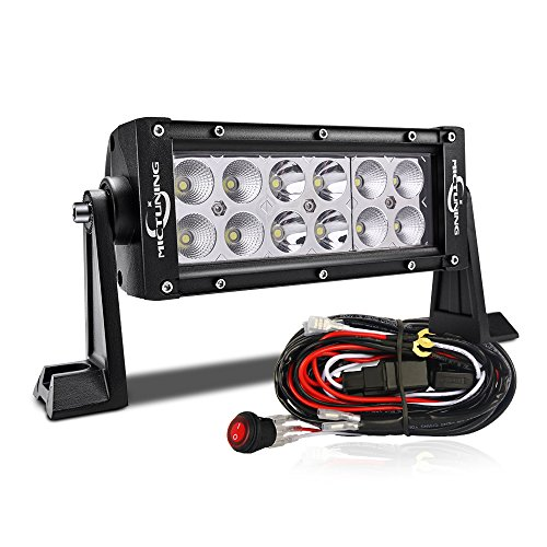 MICTUNING-02-series-8-36W-LED-Light-Bar-combo-spot-flood-light-Off-Road-SUV-ATV-UTV-Jeep-WITH-WIRING-HARNESS