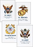 Dimensions Needlecrafts Counted Cross Stitch, Military Pride