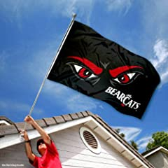 Buy Cincinnati Bearcats Eyes 3x5 Flag by College Flags and Banners Co.