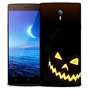 Snoogg Halloween Faces Designer Protective Back Case Cover For OPPO FIND 7