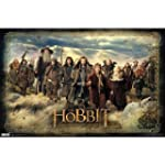 """Poster 22""""X35""""-The Hobbit-Group"""