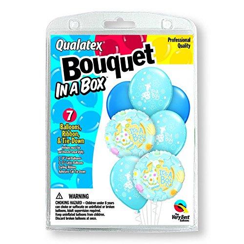 "7 Balloons Itâ€TMs A Boy 18"" Bouquet"