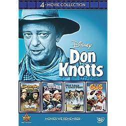 Disney 4-Movie Collection: Don Knotts (Apple Dumpling Gang / Apple Dumpling Rides Again / Gus / Hot Lead & Cold Feet)
