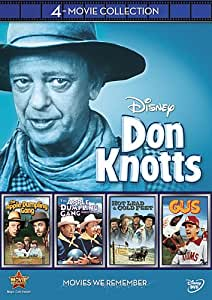 Don Knotts 4-Movie Collection (The Apple Dumpling Gang / The Apple Dumpling Gang Rides Again / Gus / Hot Lead & Cold Feet)