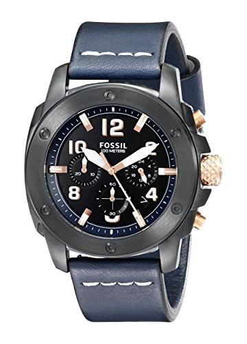 Para hombre Fossil FS5066 diseño con texto reloj de Hombre de estilo