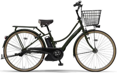 YAMAHA(ヤマハ) PAS Ami 26インチ 電動自転車 2014年モデル [8.7Ahバッテリー、内装3段変速、オートライト機能、急速充電器付き] マットオリーブ PM26A