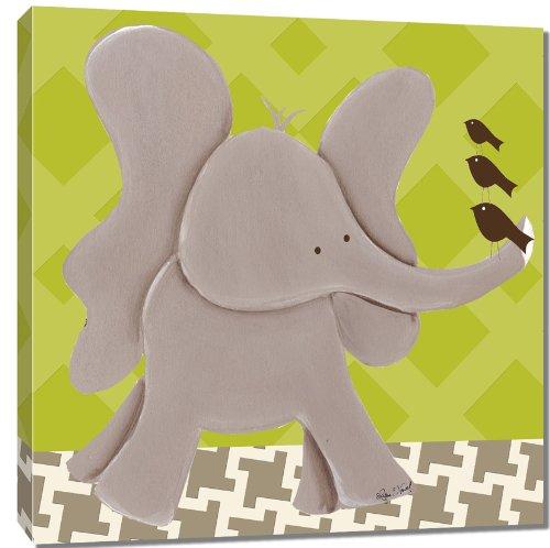 Doodlefish Canvas Art For Kids, Ellis Elephant